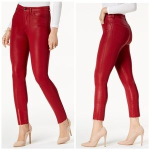 Joe's The Charlie Red Coated Jeans D15
